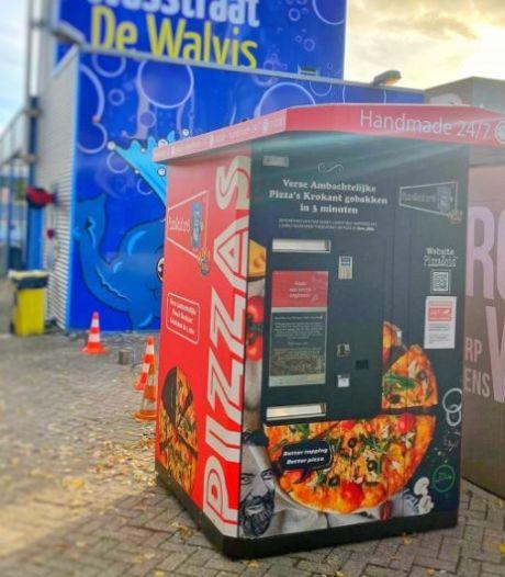Trek? Uit deze automaat haal je binnen een paar minuten een versgebakken pizza