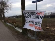 'Groenstrook = WEG, belofte gebroken', zo vindt buurt in Vught-Zuid