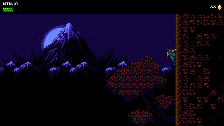 'The Messenger': een game die men, als het kind écht een naam moet hebben, een 'indie'-titel zou noemen. Beeld Devolver Digital