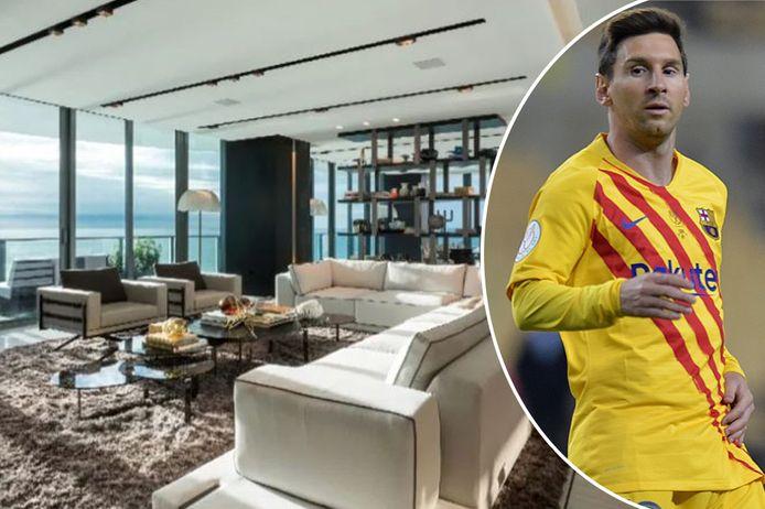 Lionel Messi koopt een tweede luxeappartement in Miami.