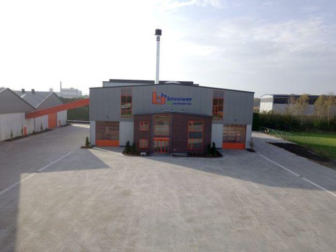 Het bedrijf Brouwer is van plan om een biomassacentrale te bouwen in Zwolle. Op de foto de centrale van het bedrijf in Balkbrug, waarmee energie wordt geleverd aan een fabriek van Campina.