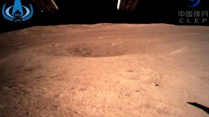 Chinese Chang'e 4-missie als eerste ooit succesvol geland op achterzijde van maan