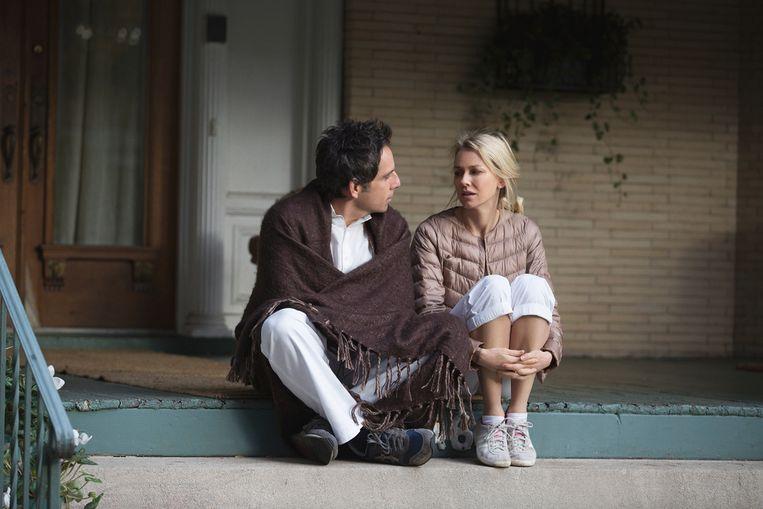 Ben Stiller en Naomi Watts in While We're Young van Noah Baumbach. Beeld