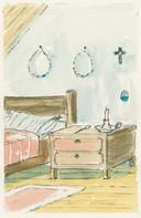 Johnny van Voren: Eierkransen boven mijn bed, in het boek 'Tussen water en wind'.