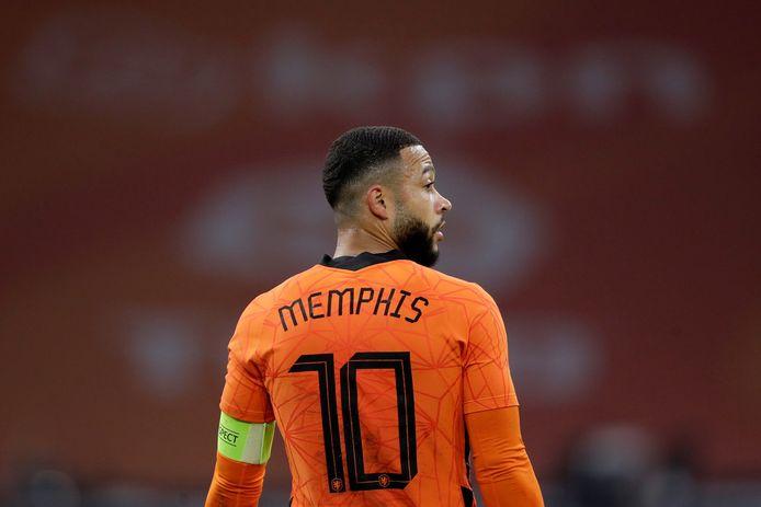 Memphis Depay heeft via twitter van zich laten horen.