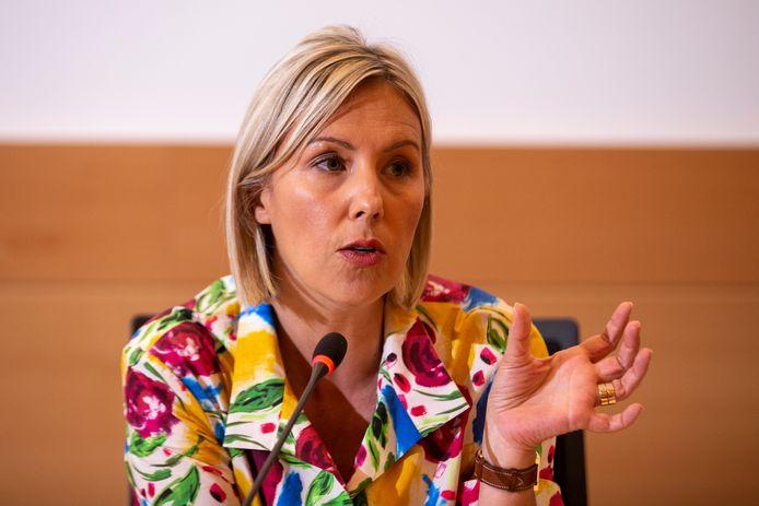 Ludivine Dedonder, ministre de la Défense (PS).