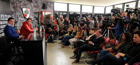 Twee spelers River Plate betrapt op plaspillen