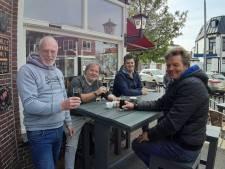 Parkzicht zet hoopvol terras buiten en wacht op de eerste gasten: 'In goed gesprek met brouwerij'