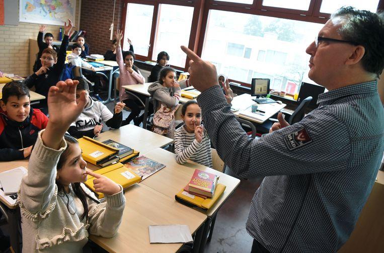 Basisschool Luksasschool. Beeld Marcel van den Bergh / de Volkskrant