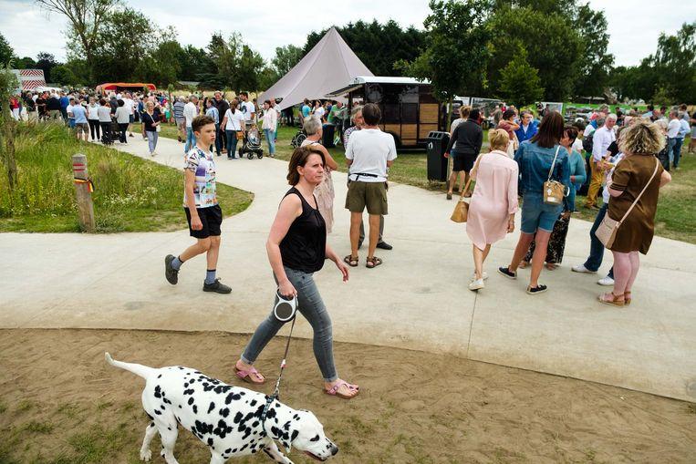 In juni ging het landschapspark Frijthof officieel open. Onder meer Hove Beweegt pleit ervoor om groene buitenzones te vrijwaren.