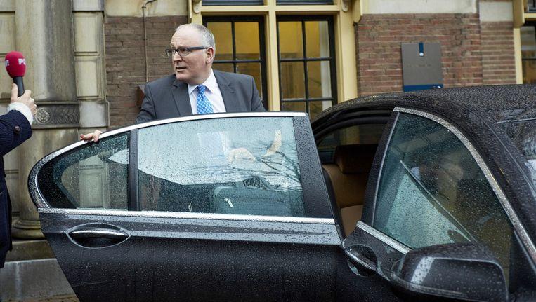 Minister Frans Timmermans van Buitenlandse Zaken Beeld ANP