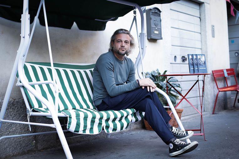 De Italiaanse schrijver Roberto Camurri. Beeld Getty Images