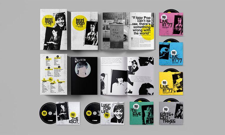 'The Bowie Years'-box geeft een mooi beeld van de band die Iggy Pop en David Bowie hadden tijdens hun verblijf in het West-Duitse Berlijn. Beeld rv