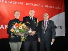Koninklijk lintje voor brandweerman Arjan van Brussel uit Rijssen