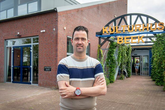 Martijn Saat is de nieuwe coördinator van het Kulturhus in Beek.