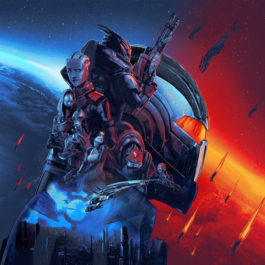 De 'Mass Effect'-trilogie komt terug op 14 mei: alle games in één pakket, met een flink laagje 4K-vernis er overheen.