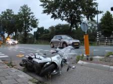 Scooterrijder gewond na aanrijding Kanaalweg Dieren