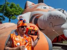Straten van Breda kleuren oranje: 'Nog nooit zo heftig versierd gezien'