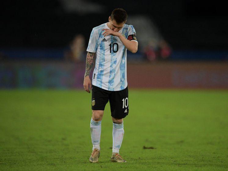 Argentinië ondanks prachtgoal Messi niet langs Chili