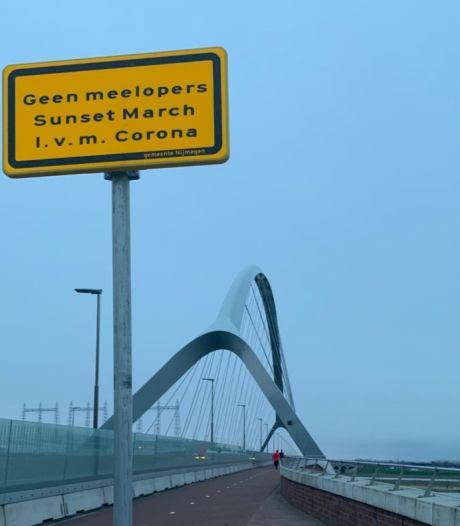 Organisatie Sunset March: dringend verzoek niet te komen wegens virus