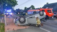 Koprol na knal tegen boom: chauffeur lichtgewond
