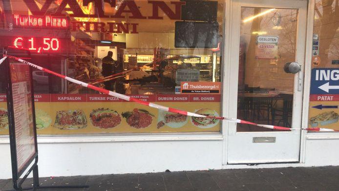 Overval Surinamestraat Zwijndrecht bakkerij Vatan