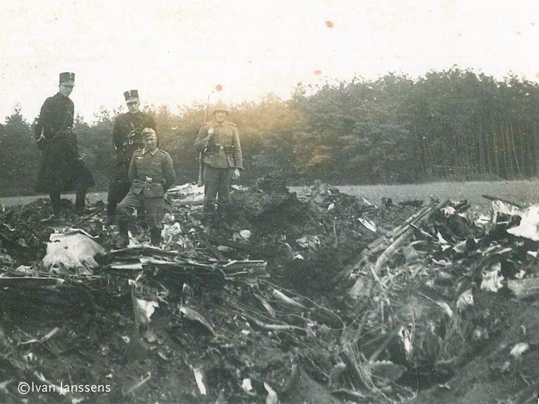 Een beeld uit de oorlog.