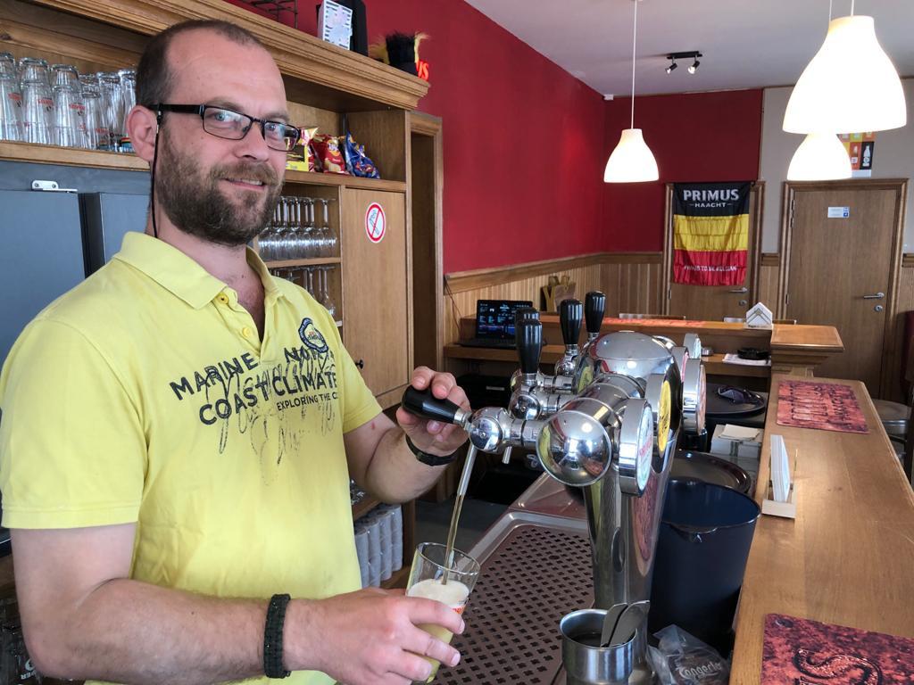 Christophe Havelaerts opent maandag café De Veste aan Kabbeekvest in Tienen.