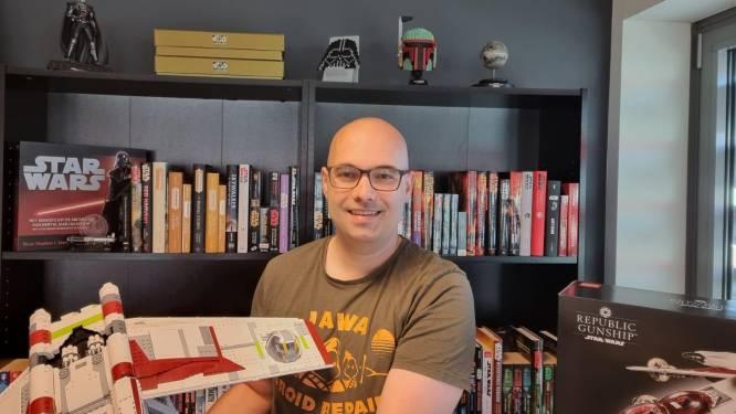 Marc gaf afgelopen jaar 5000 euro uit aan zijn Star Wars-hobby: 'Ik koop dingen twee keer'