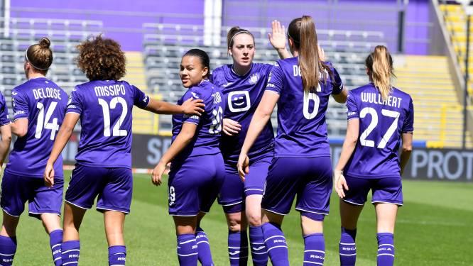 Orde op zaken: Anderlecht-vrouwen maken gehakt van titelconcurrent Standard