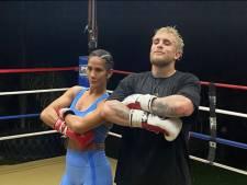 YouTube-ster Jake Paul legt Amanda Serrano vast: 'Ze zijn een heel krachtig team'