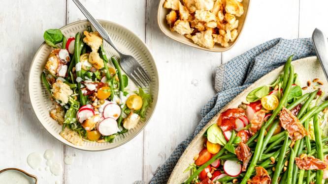 Wat Eten We Vandaag: Haricots-vertssalade met knapperige ham
