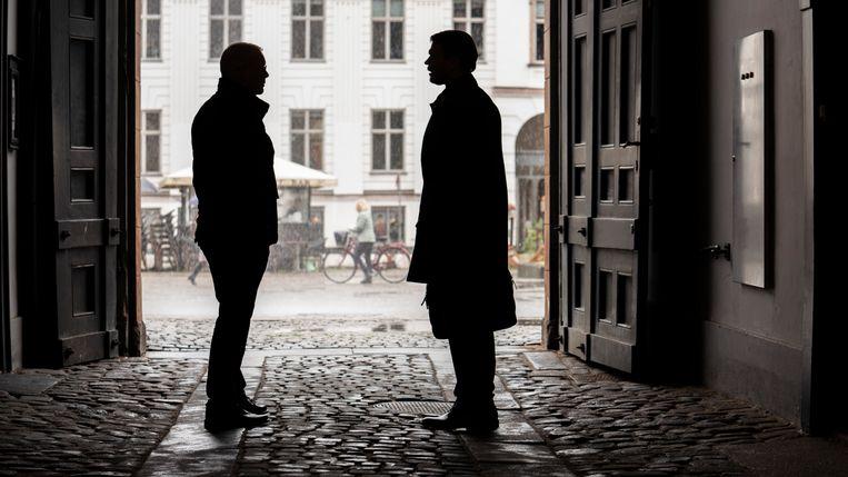 In de serie 'The Investigation' communiceren Denen en Zweden met gemak met elkaar. In de realiteit gaat dat toch iets moeilijker.  Beeld VRT