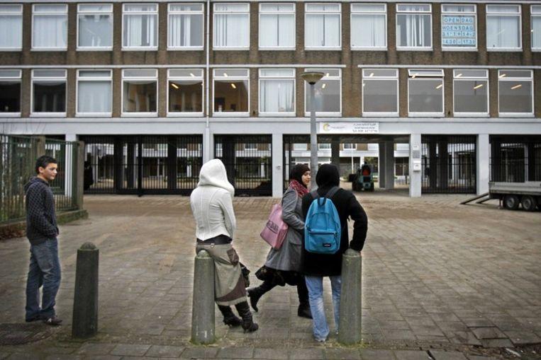 Het Islamitisch College in Amsterdam blijkt de slechtste middelbare school van Nederland. Foto ANP Beeld