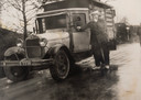 Grootvader Dasselaar vervoerde in 1918 varkens in een T-Ford
