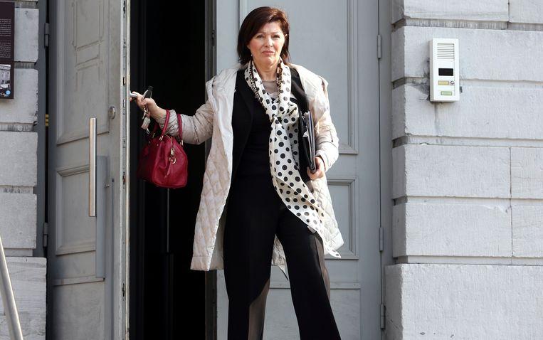 Advocaat Joris Van Cauter beschuldigde rechter Ilse Lommelen (boven) van 'partijdigheid'. Niks van aan, zegt het hof van beroep nu. Beeld Photo News