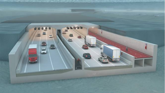 """Schop in de grond voor aanleg Antwerpse Scheldetunnel: """"Startschot voor Oosterweelwerken op Rechteroever"""""""