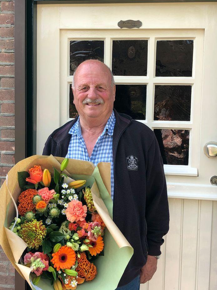 Wil van Laarhoven mag zich vanaf nu Lid in de Orde van Oranje-Nassau noemen.