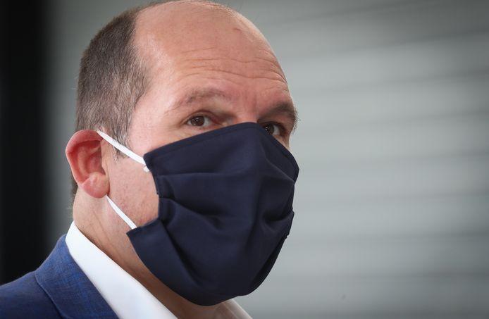 Burgemeester van Brussel Philippe Close (PS)