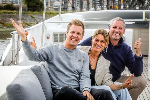 James Cooke, Karen Damen en Gert Verhulst staan begin volgend jaar samen op de planken.
