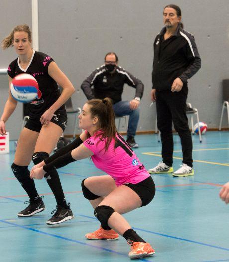 FAST: Ook libero Susanne Kos kan tegen Zwolle niet het verschil maken