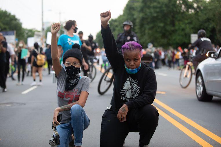 Charlotte, North Carolina. Beeld AFP