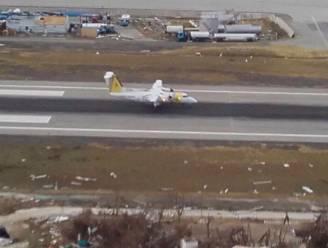 Eerste testvliegtuigje landt op Sint-Maarten