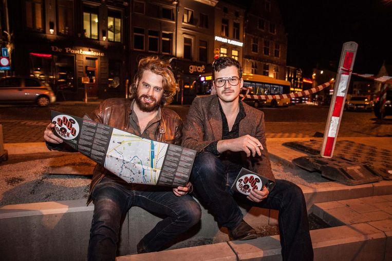 Edmond 'Mong' Cocquyt (rechts) lanceert nu donderdag weer het Nachtplan voor de Gentse Feesten.