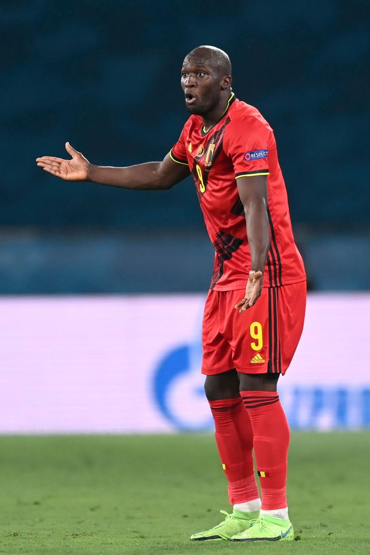 Lukaku maakte 23 goals in 22 wedstrijden voor België sinds het WK 2018. Beeld Photo News