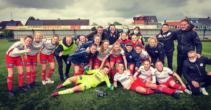 De ploeg van Essevee Women SL.