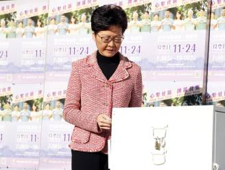 "Peking steunt leider van Hongkong ""resoluut"", ondanks electoraal verlies"