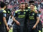 PSV evenaart met 1-7 grootste uitzege sinds 1978
