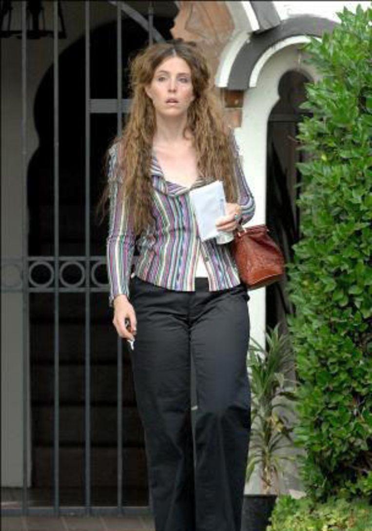 Hilary Olson, de vrouw die klacht neerlegde tegen Ron Wood. Beeld UNKNOWN