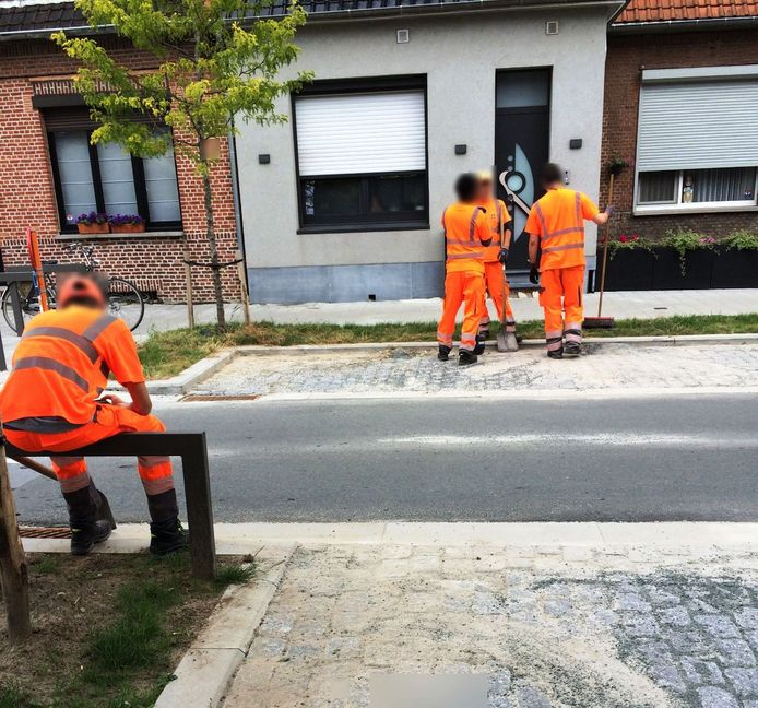 Antwerpse straatvegers